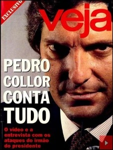 Capa da revista VEJA de 27/5/1992