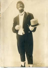 Blackface actor