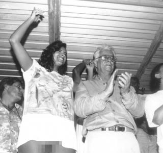 Wilson Pedrosa conta a história da foto de Itamar Franco no sambódromo
