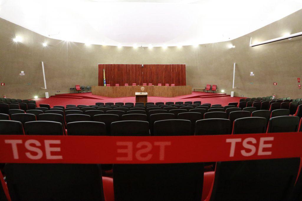_61U4223.JPG BRASILIA DF BSB 03/04/2017 POLITICA TSE / - Plenario vazio do Tribunal Superior Eleitoral ( TSE ) em Brasilia. No local sera julgada a cassação da Chapa Dilma Rousseff / Michel Temer nesta terça-feira (4) . FOTO: DIDA SAMPAIO/ESTADAO