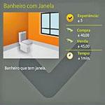 Banheiro com janela