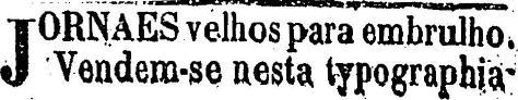 1879.7.26 jornal velho para embrulho tipografia2