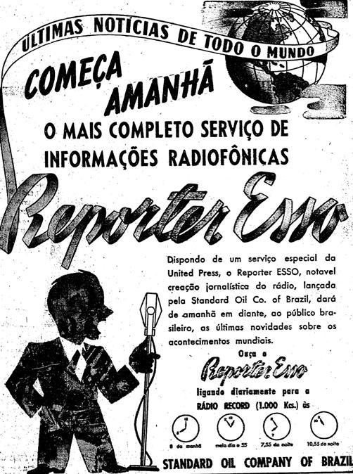 1941.8.31 repórter esso rádio estreia2