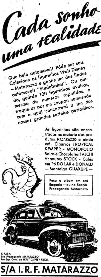 1942.3.5 figurinhas matarazzo carro studebaker2