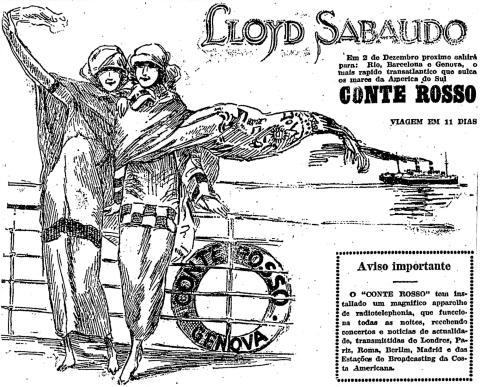 1924.11.23 viagem navio radiotelefonia telecomunicações2