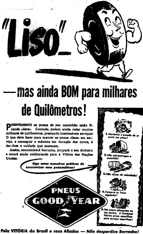 1943.7.4 pneu careca campanha guerra falta borracha2