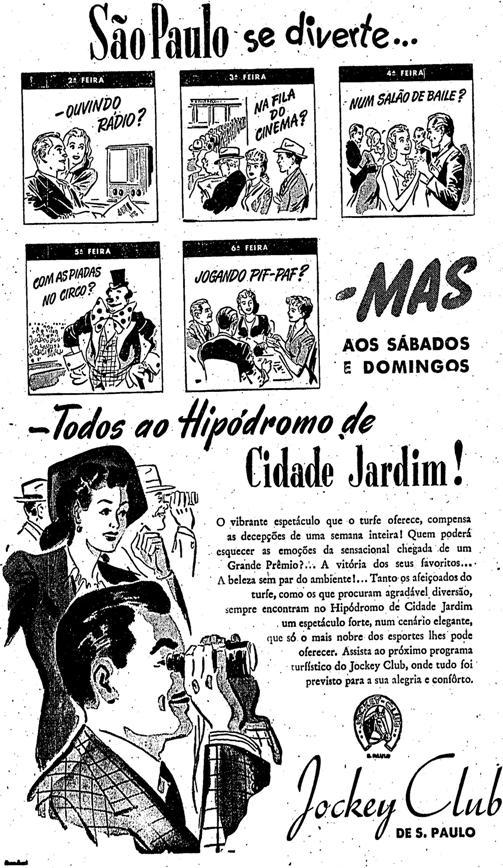 1946.5.5 jockey cavalos passeios em são paulo2