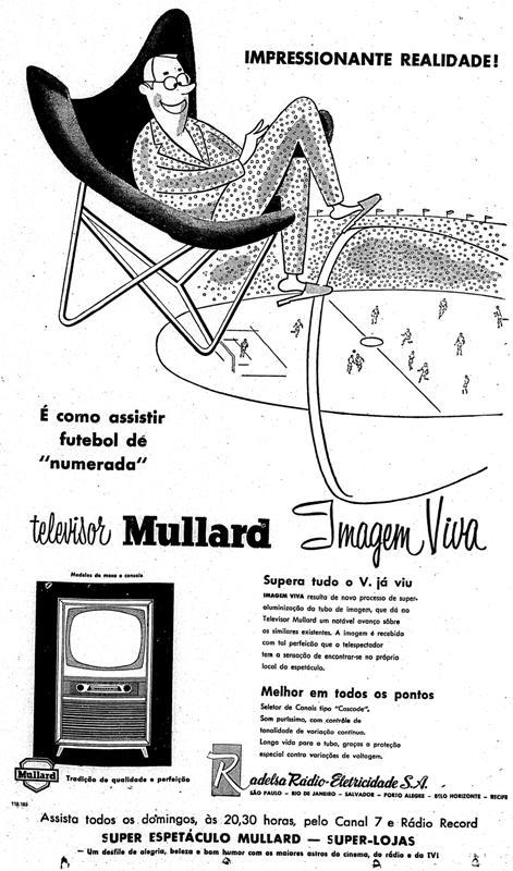 1957.6.4 TELEVISÃO NOVA FUTEBOL COPA TV