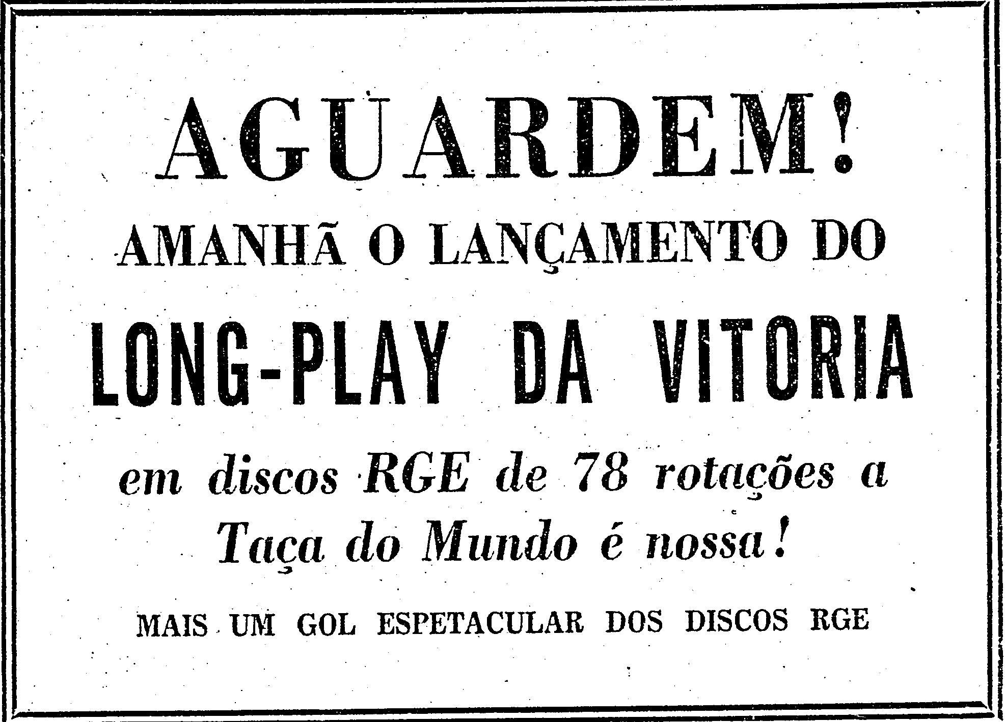 1958.7.1 longplay da vitória futebom seleção2
