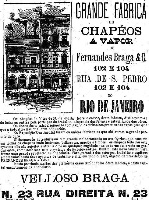 1886.3.30 chapéu a vapor fábrica rio2