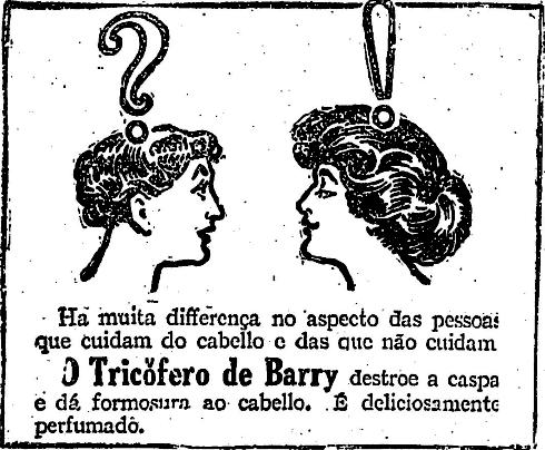 1918.11.30 - Para o cabelo, tricófero de Barry