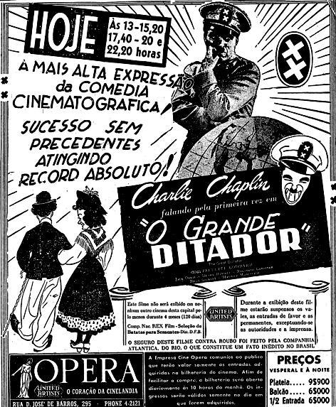 1942.05.17 chaplin grande ditador cinema2