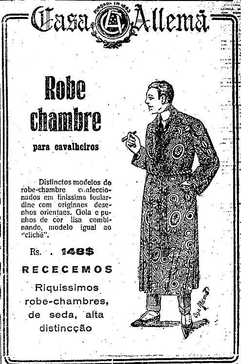 Robe de chambre for Robe de chambre seculo xix