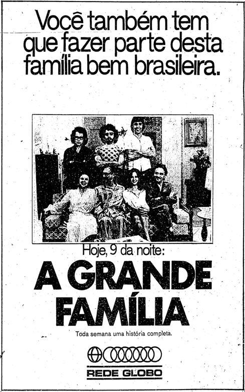 A Grande Família em 1974