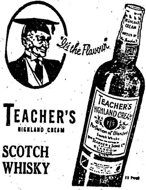 Uísque Teacher's em 1951