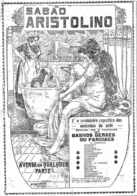 Sabão Aristolino no Estadão de 1916
