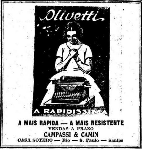 Olivetti Rapidíssima em 1928