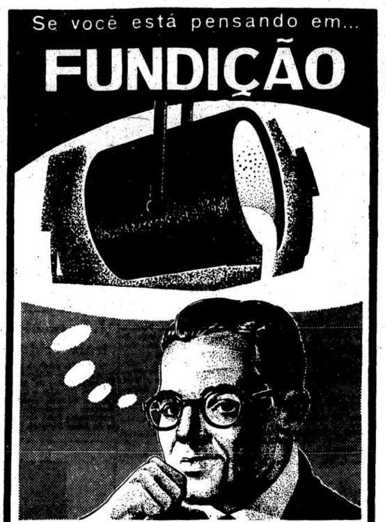 Fundição: em 1961