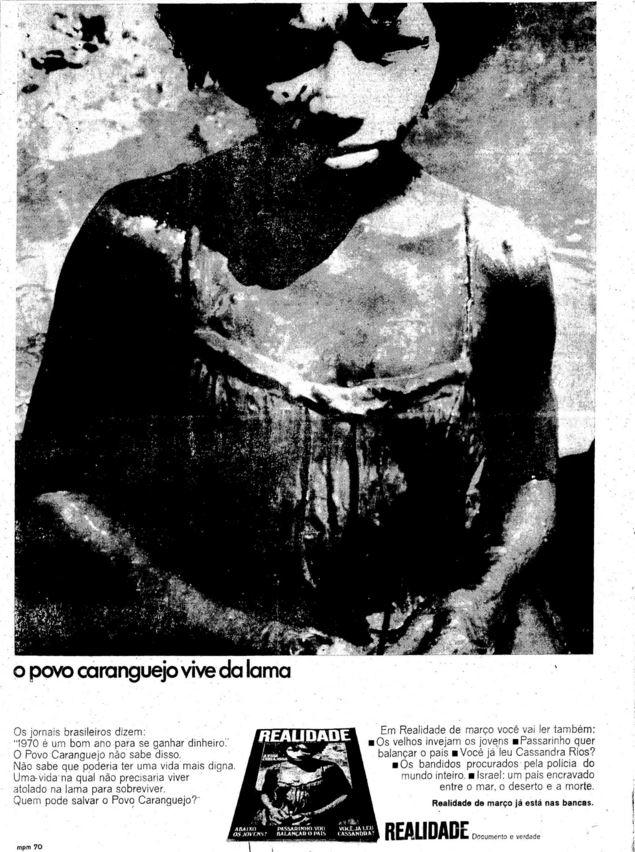 Anúncio da Realidade em 1970
