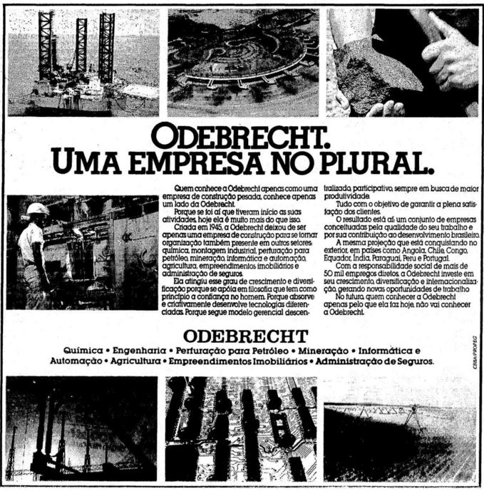 Odebrecht, empresa plural
