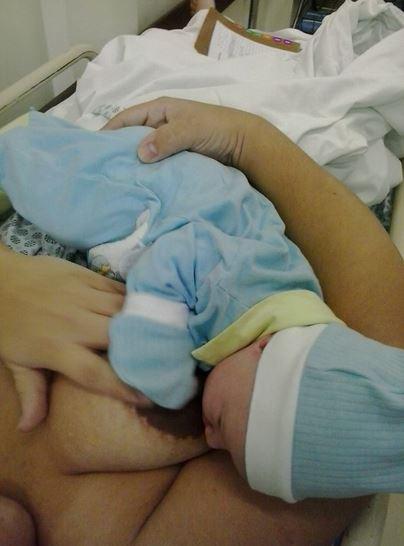 Thaís Silva insistiu e conseguiu seu parto normal. Mas a médica que a atendia não apareceu no hospital.