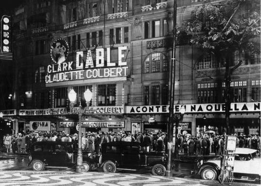 Em 1926, ano na inauguração (Foto: Acervo/Grupo Severiano Ribeiro)